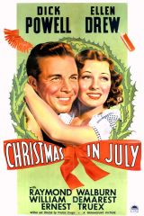 Christmas in July 1940 DVD - Dick Powell / Ellen Drew